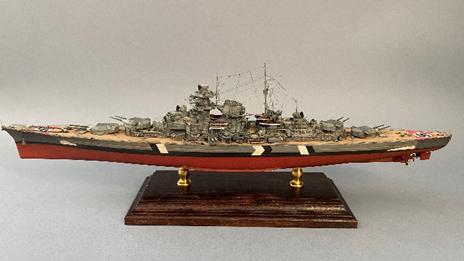 Model okrętu Biasmark